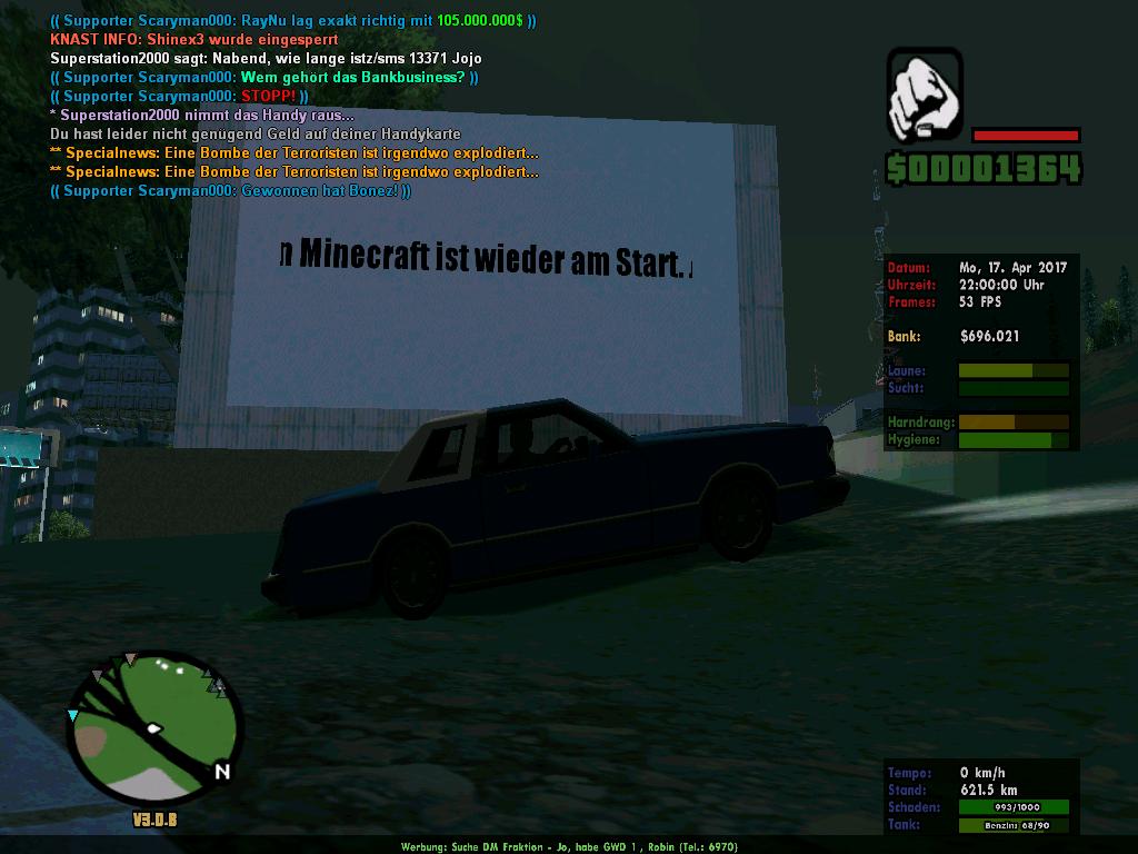 Spieler Online Und Ne Gute Werbung Life Of German Die - Minecraft spieler online