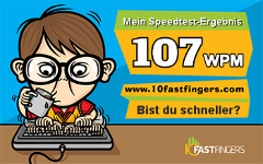 Tipp-Speedtest